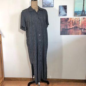 Elisabeth by Liz Claiborne plaid shirt dress, 18
